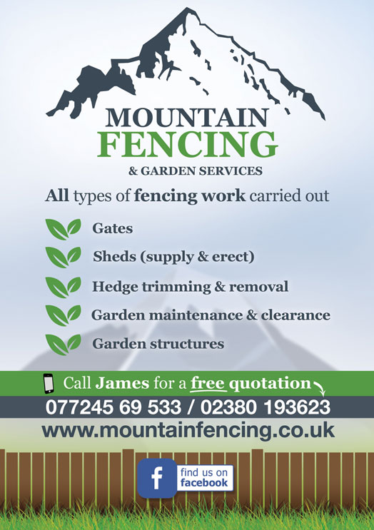Mountain Fencing Leaflet