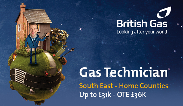 British Gas Recruitment Ad