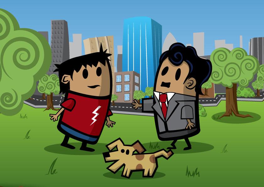 Cartoon Scene